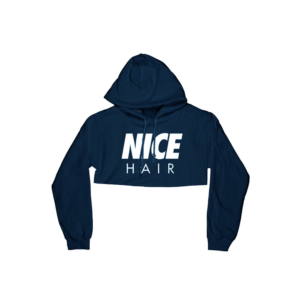 Nice Hair Ladies Crop Hoodie