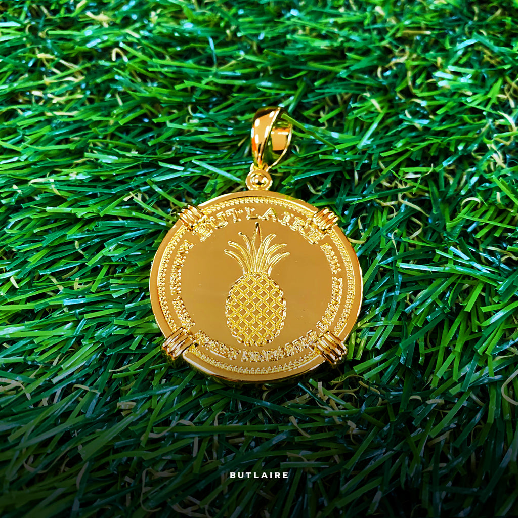 Jonesin Fa' Pineapple Pendant