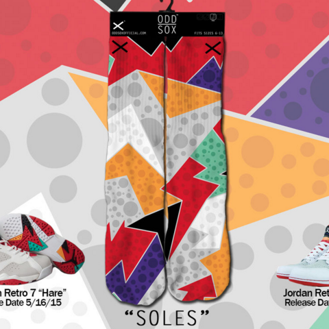 Odd Sox Sole ( Hare ) Socks