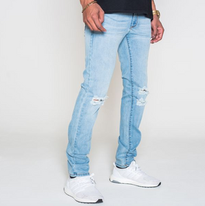 BLKWD DENIM Derrick Distressed Denim