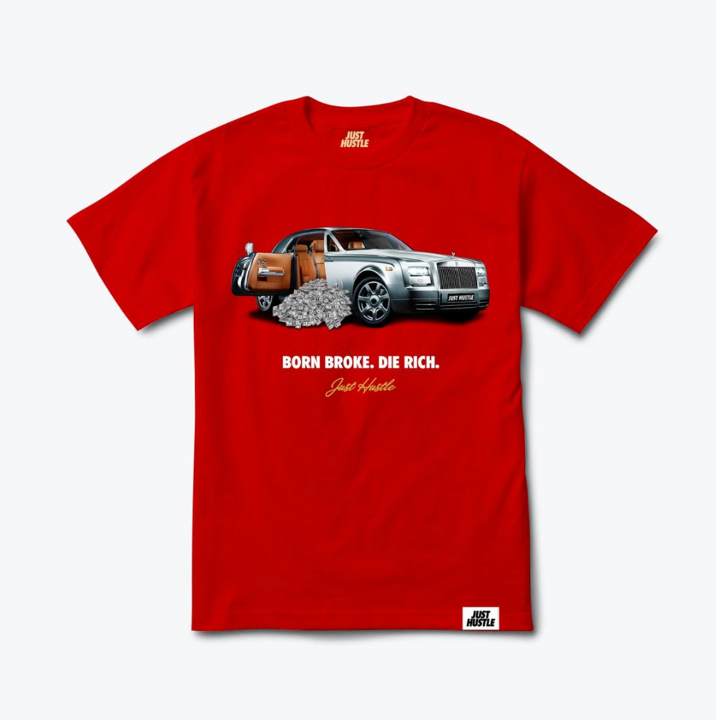 Just Hustle Cash Car Tee