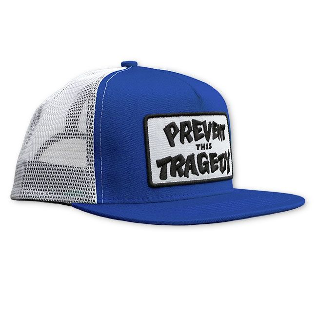 Thrasher Prevent this Tragedy Mesh Snapback