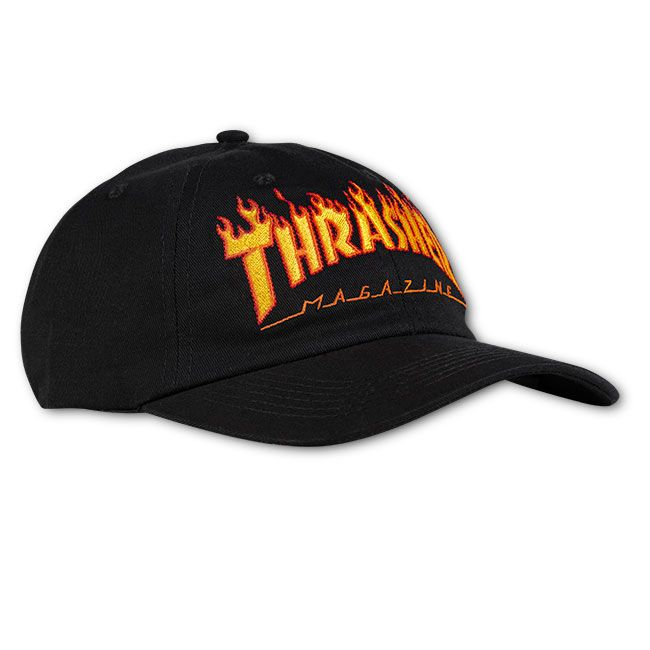 Thrasher Flame Dad Hat