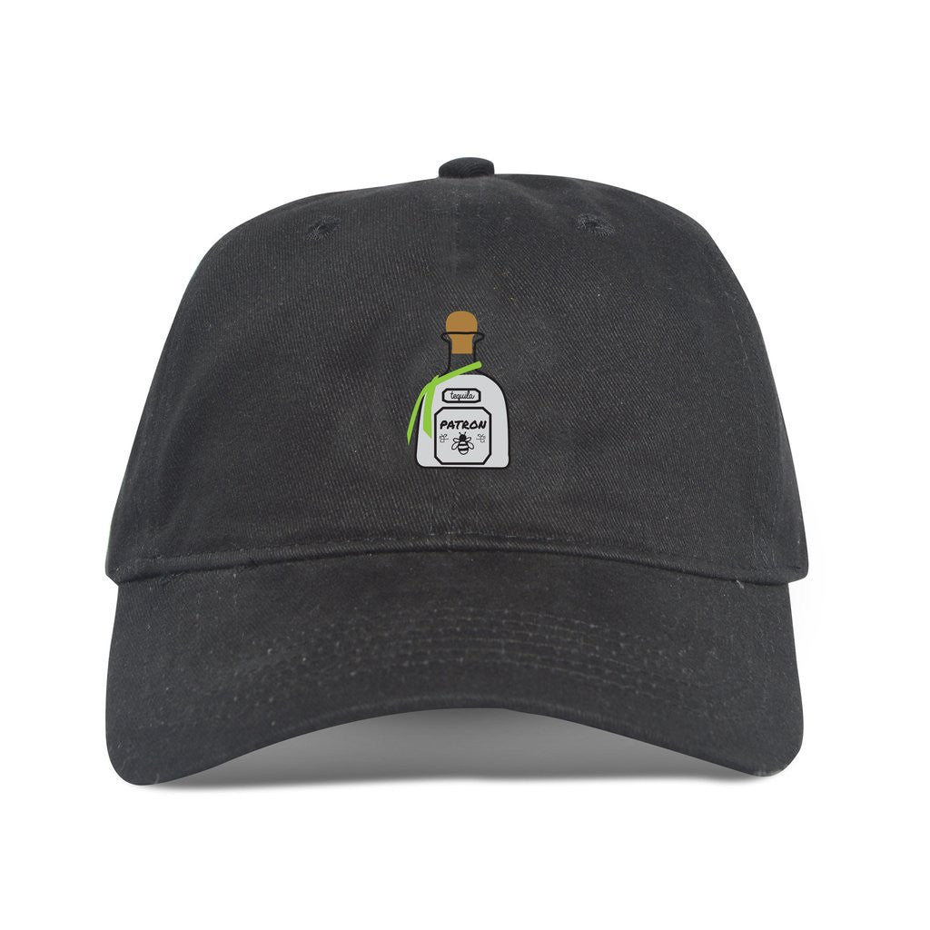 Patron Dad Hat in Black