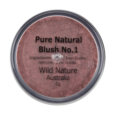 Wild Nature Blush No 1 Rich Plum (5g)