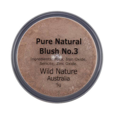 Wild Nature Blush No 3 Soft Peach  (5g)