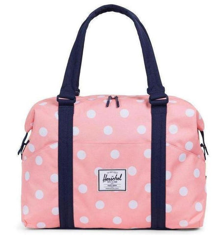 Herschel - Sac à couche - Peach Polka Dot/Peacoat