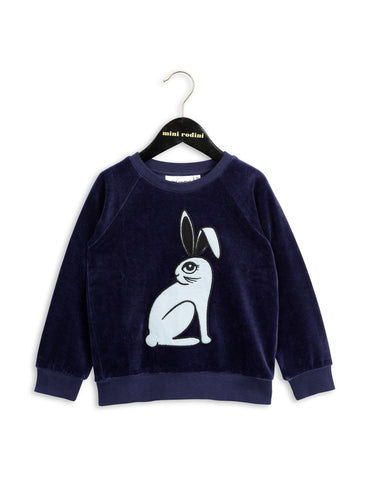 Mini Rodini - Sweatshirt - Velour Navy
