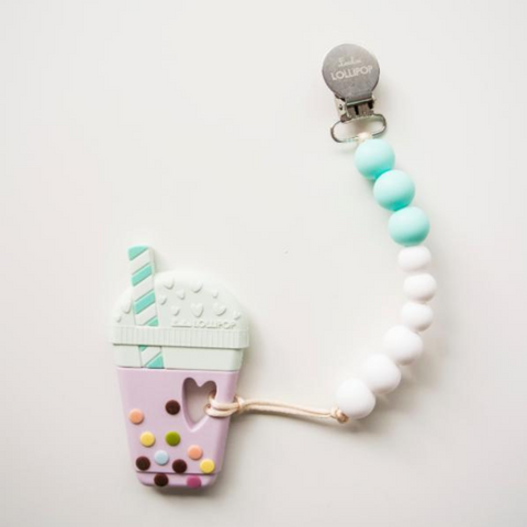 Lollipop - Jouet de dentition - Bubble Tea Aqua