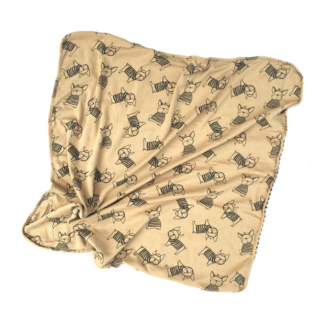 Kira Kids - Couverture - Bulldogs français multi tan
