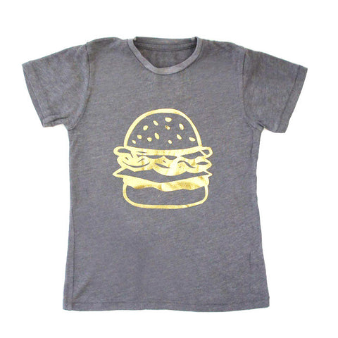 Kira Kids - T-Shirt - Hambuger Gold