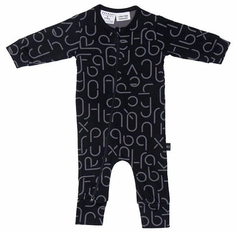 Hux Baby - Romper - Soft Text