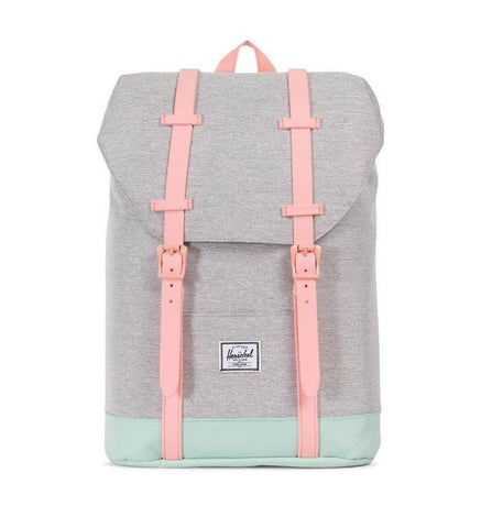 Herschel - Sac à dos Retreat Youth - Light Grey/Yucca