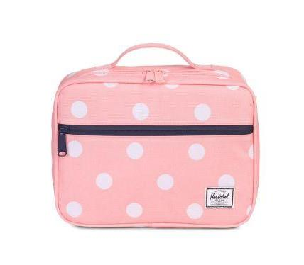 Herschel - Boîte à lunch - Peach Polka Dot