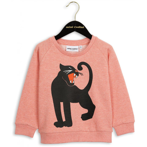 Mini Rodini - Sweatshirt - Panther Pink