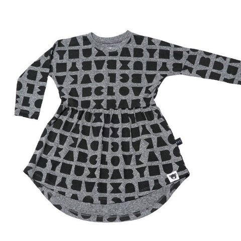 Hux Baby - Dress - Block Swirl