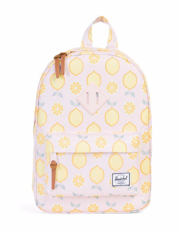 Herschel - Sac à dos Heritage Kids - Lemon drop