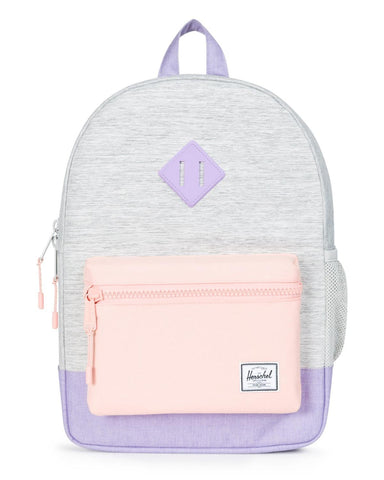 Herschel - Sac à dos Heritage Youth - Light Grey / Mauve