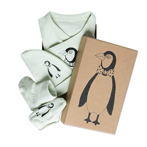 Penguin baby kit Spearmint - Mini Rodini