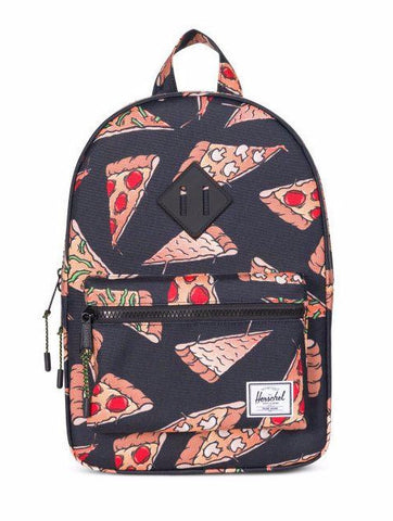 Herschel - Sac à dos Heritage Kids - Black Pizza