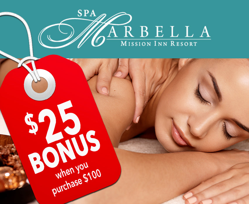 Spa Spring Gift Certificate