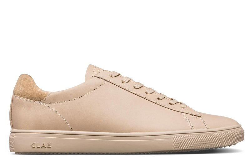 Vanilla Tan nubuck court sneakers CLAE los angeles Bradley Stan Smith