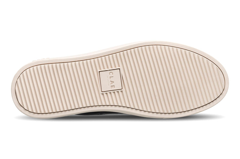 Premium black Nappa Leather toe cap sneakers CLAE los angeles Herbie