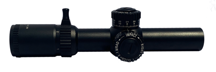 Elite Series 1-12X26 Illuminated Reticle - Optics Armory