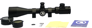 Tactical 4-16x50 Illuminated Mil Dot Glass Reticle - Optics Armory