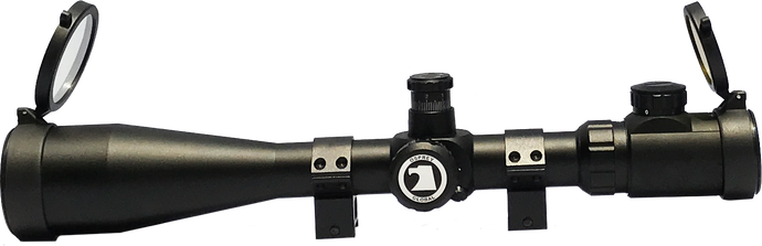 Tactical 6-24x50 Illuminated MilDot Reticle - Optics Armory
