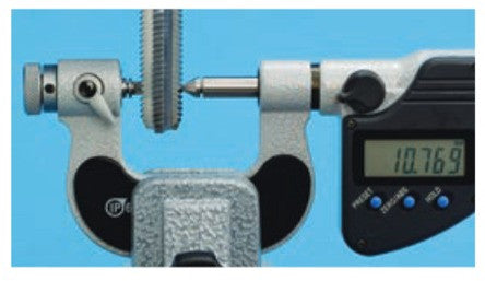 Thread pitch micrometer