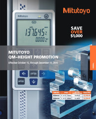 Mitutoyo QM-Height Gage Promo Cover