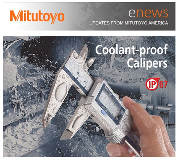 Mitutoyo Coolant Proof Calipers