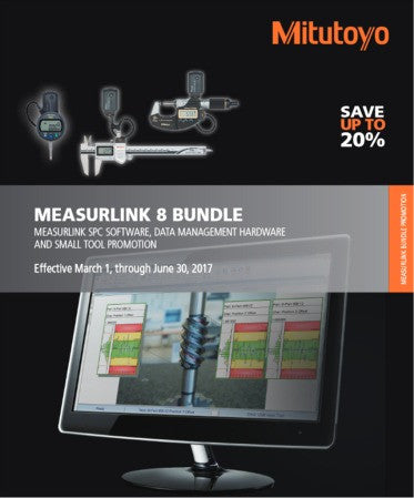 Mitutoyo MeasurLink Bundle Promo 2017