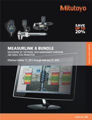 Mitutoyo MeasurLink v8 Bundle Promotion