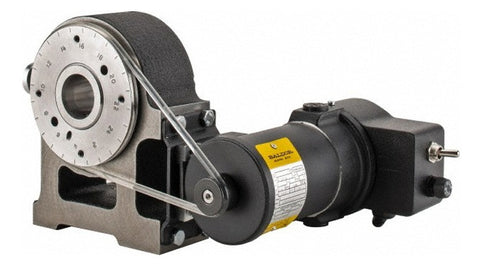Harig 5C Compatible Motorized Spin Collet Indexer