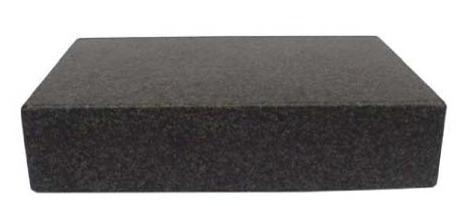 12x12x3 Granite Surface Plate, B Grade, 0 Ledges
