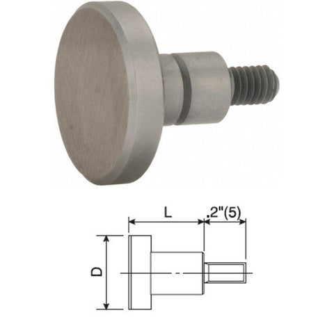 "101188 Flat Contact Point 1/2"" dia"