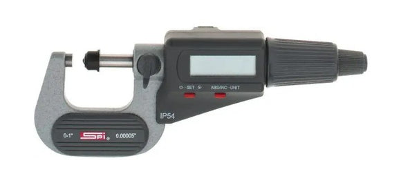 11-545-1 SPI Digital Micrometer 0-1