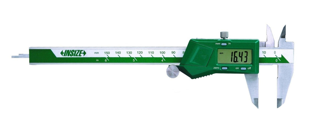1130-200 Insize Digital Left-Hand Caliper 8""