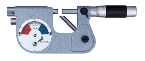 "12-108-7 Etalon Indicating Micrometer 1-2"", .0001"" Grad"
