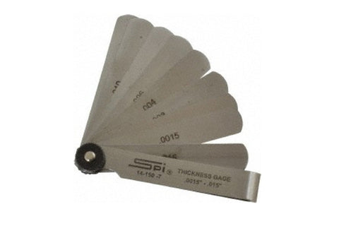 14-150-7 Thickness Feeler Gages .015""