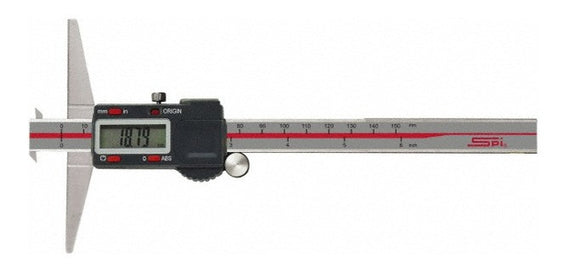 17-608-1 SPI Digital Depth Gage Double Hook, 6