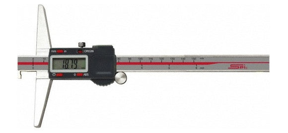 17-613-1 SPI Digital Depth Gage Single Hook, 12