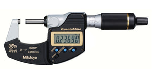 293-185-30 Mitutoyo QuantuMike Micrometer No Output 0-1""