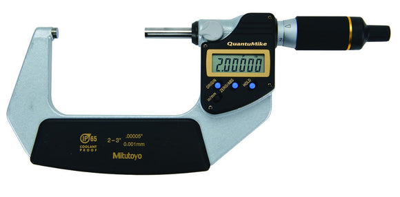 293-187-30 Mitutoyo QuantuMike Micrometer No Output 2-3