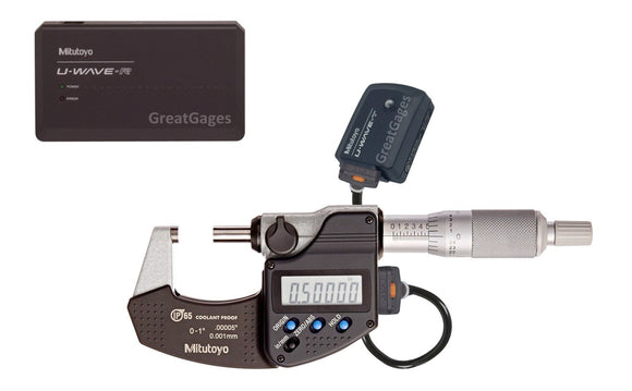 293-330-30-UW Mitutoyo Micrometer to PC Wireless Package