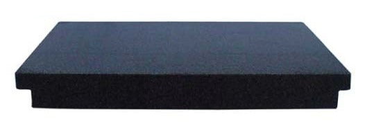12x18x3 Granite Surface Plate, AA Grade, 2 Ledges