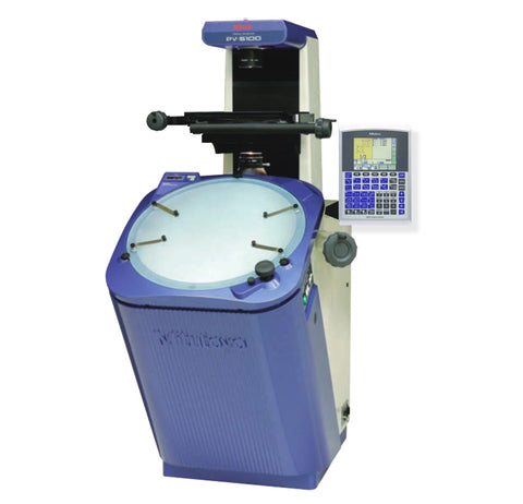 PV-5110 Mitutoyo Vertical Optical Comparator w/QM-Data & Edge Detection