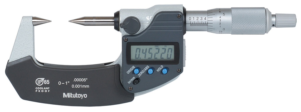 342-361-30 Mitutoyo 30° Point Micrometer 0-1""
